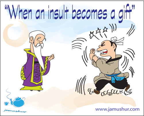 Koan-Insult-becomes-Gift