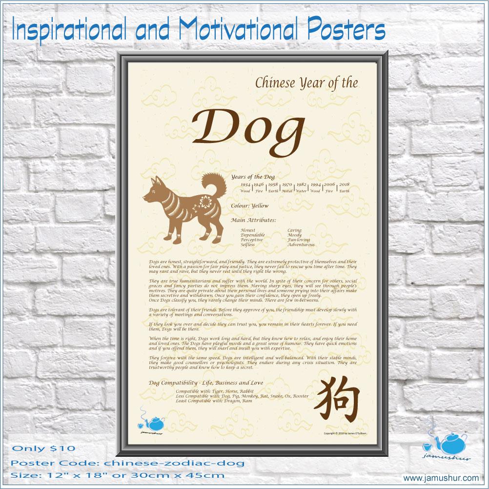 Chinese Zodiac Year of the Dog – Jamushur
