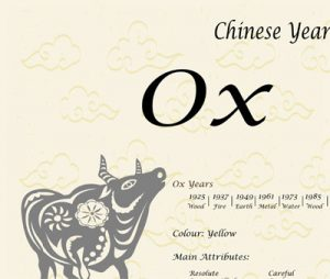 chinese zodiac year of the ox jamushur. Black Bedroom Furniture Sets. Home Design Ideas